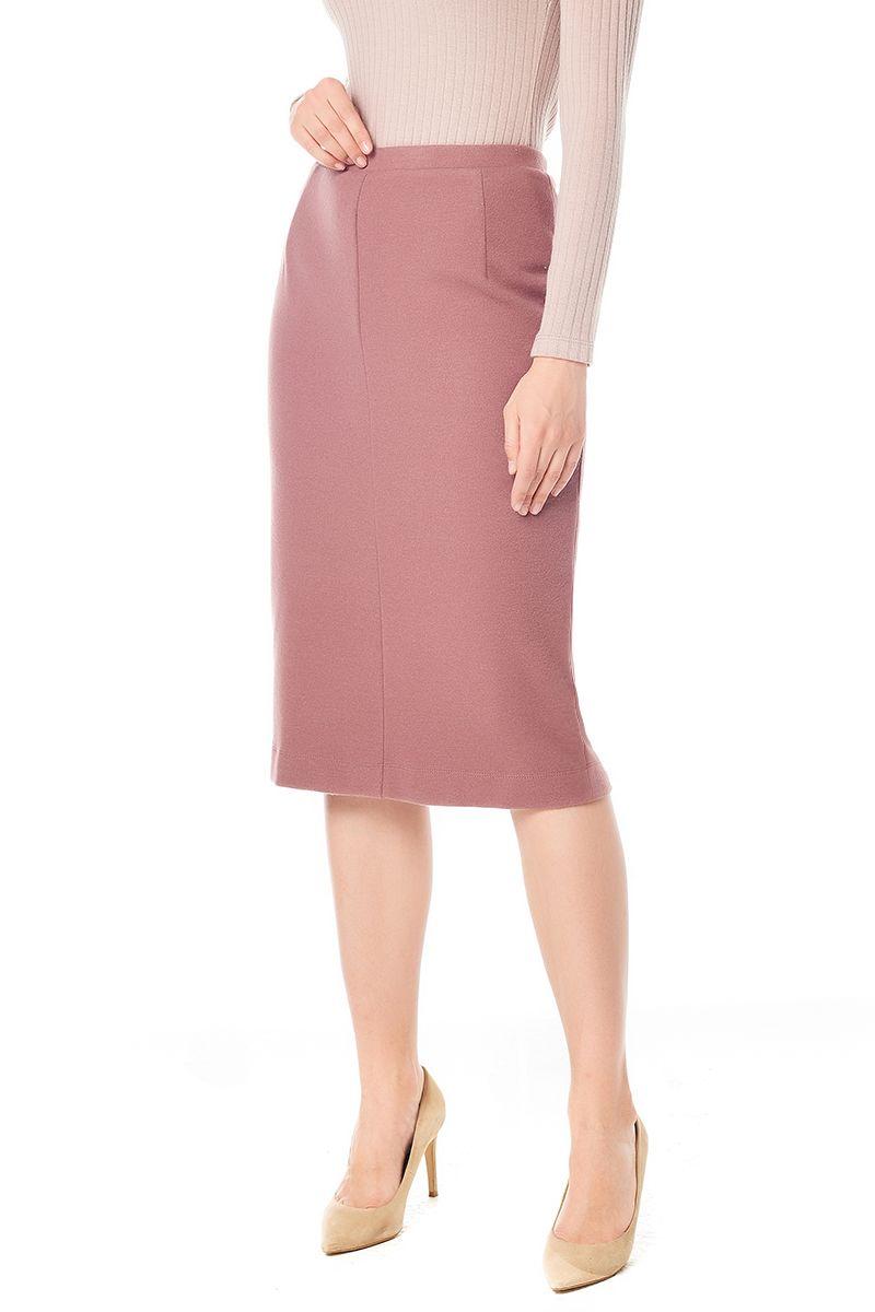 Шерстяная юбка карандаш LalaStyle W10013