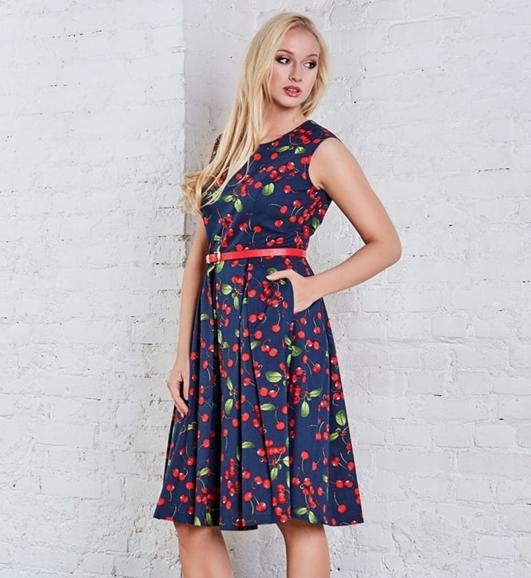 Красивое летнее платье Top Design A8 061