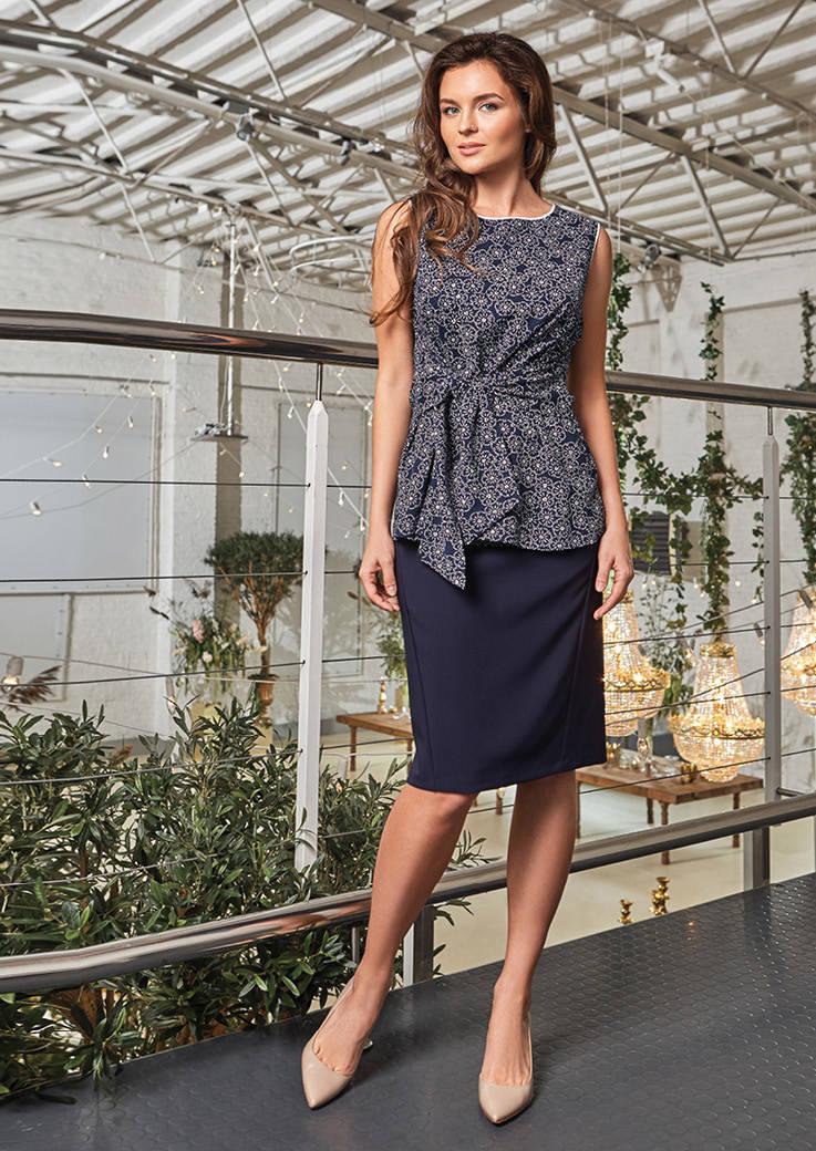Летняя женская блузка Top Design РА8 50
