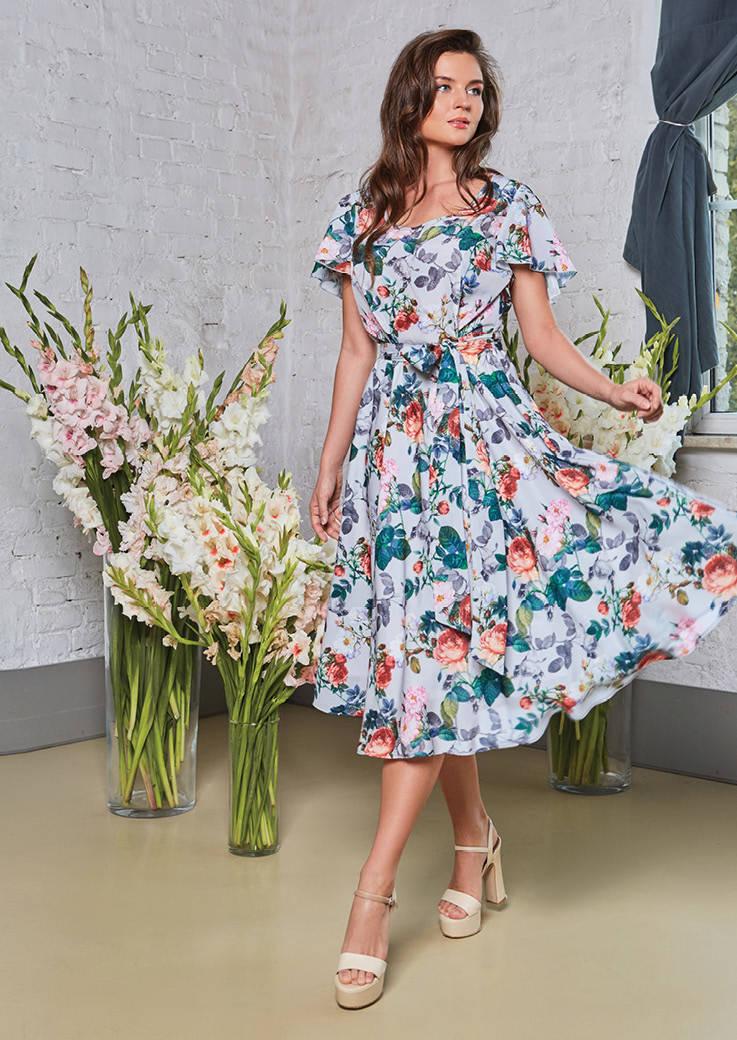 Модное женское платье Top Design PA8 34