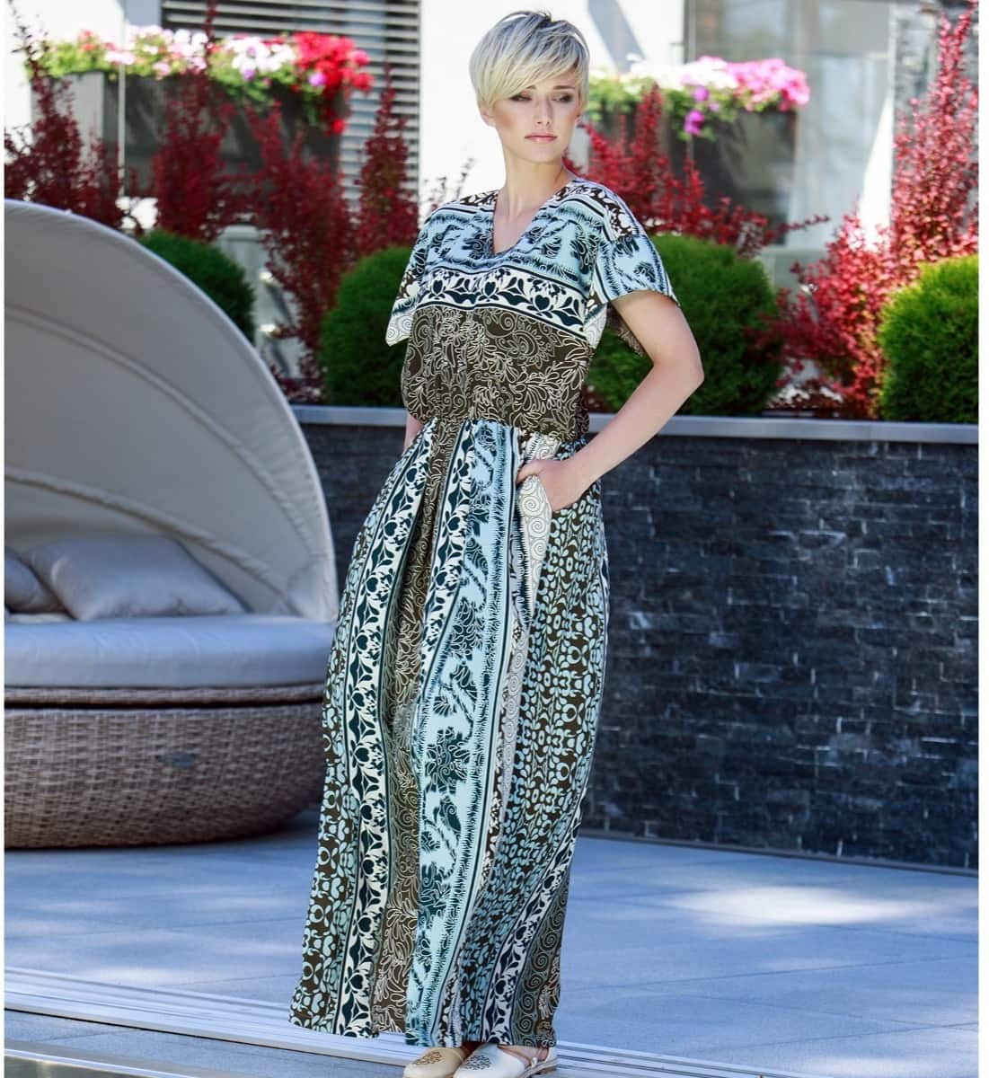 Платье из вискозы Flaibach 075S7 Германия