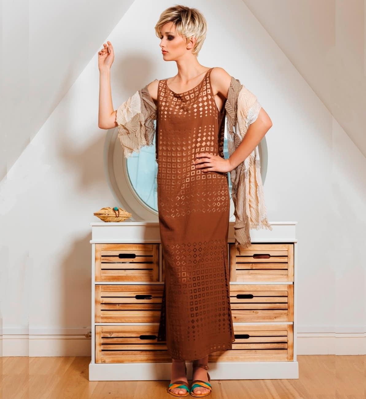 Модное платье Flaibach 037S5