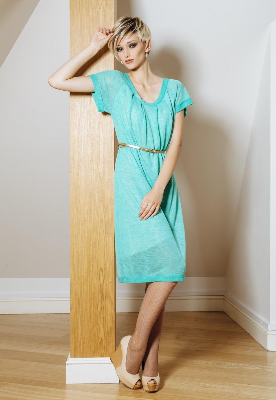 Женское платье с коротким рукавом Flaibach 030S5