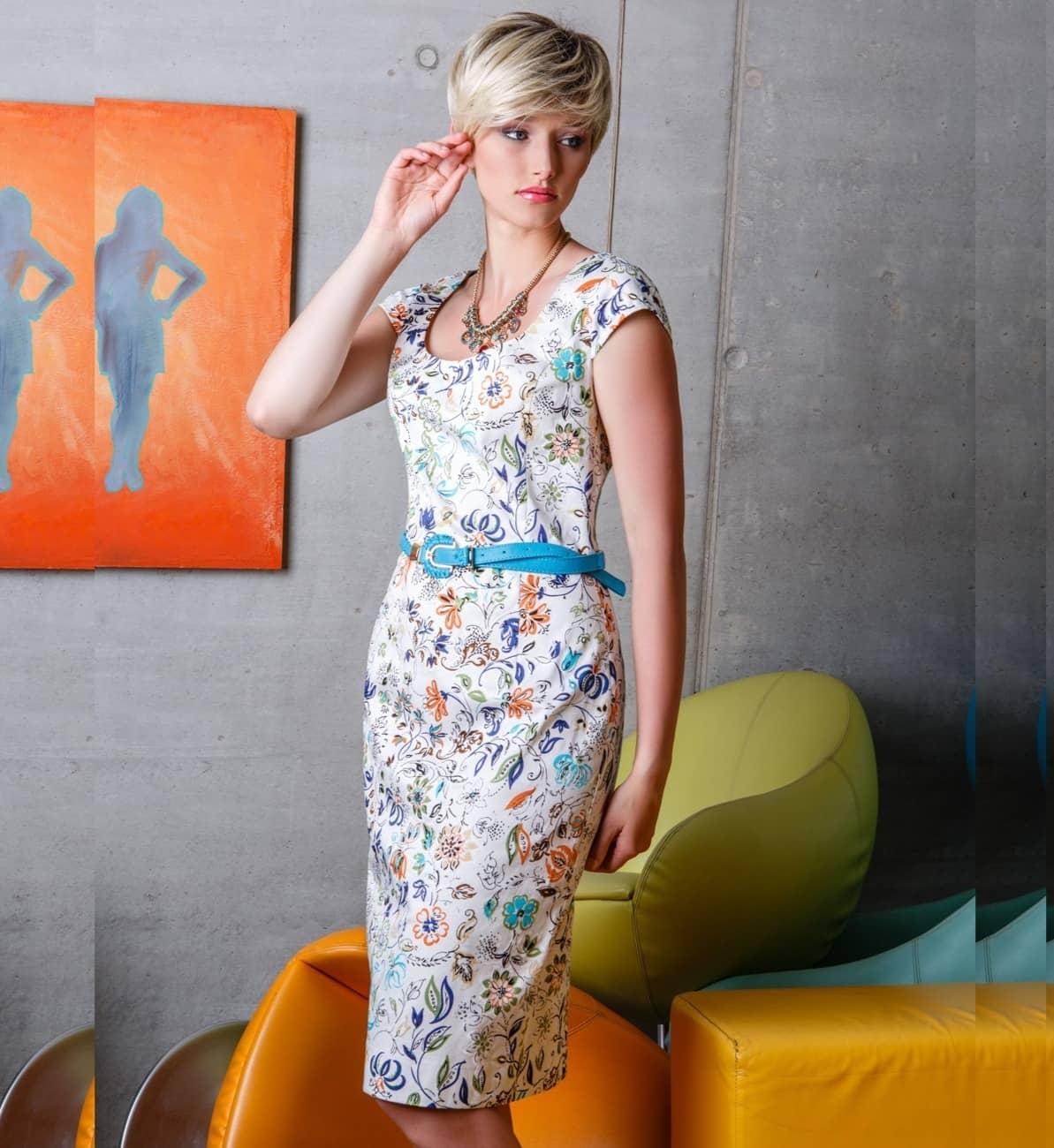 Классическое женское платье Flaibach 070S6