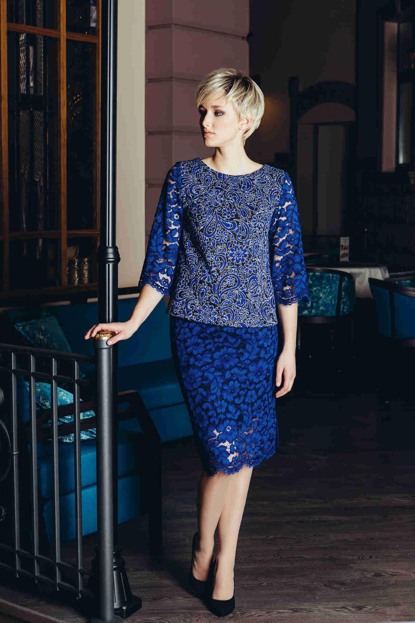 Красивая брендовая блузка Flaibach 071W6