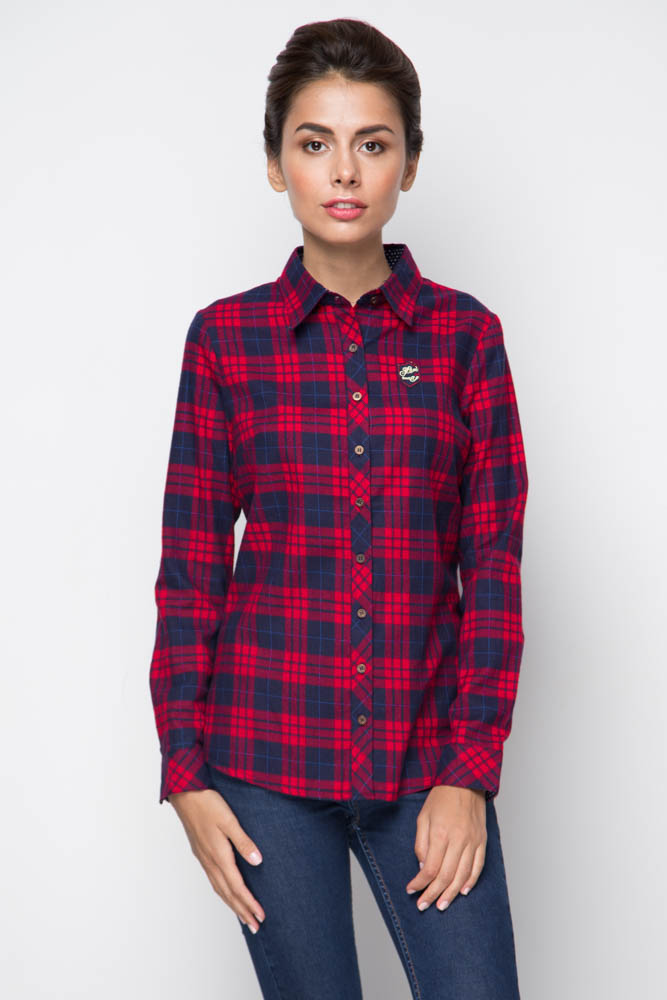 Женская рубашка под джинсы Marimay 158-15103