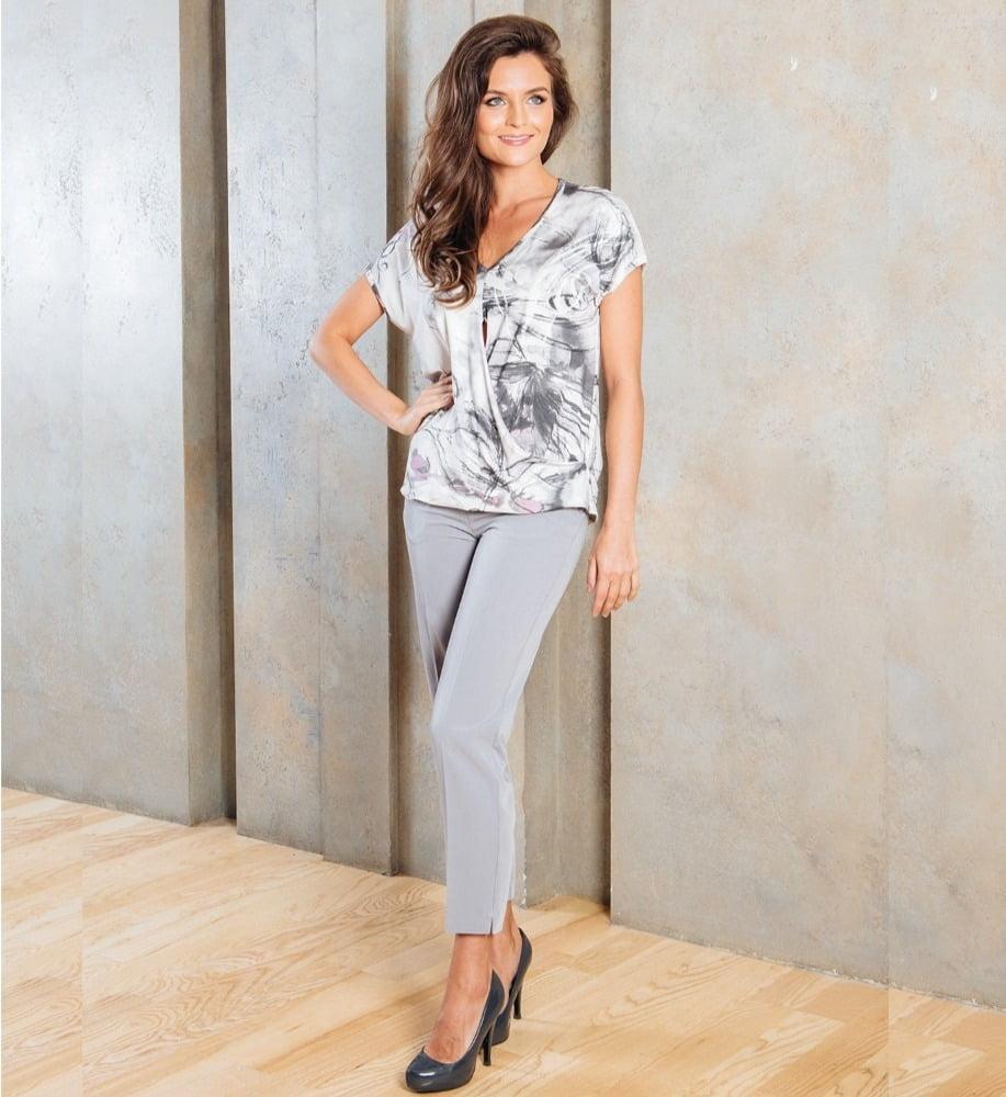 Зауженные женские брюки TopDesign А7 092