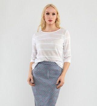 Летняя женская блузка Top Design PA9 18