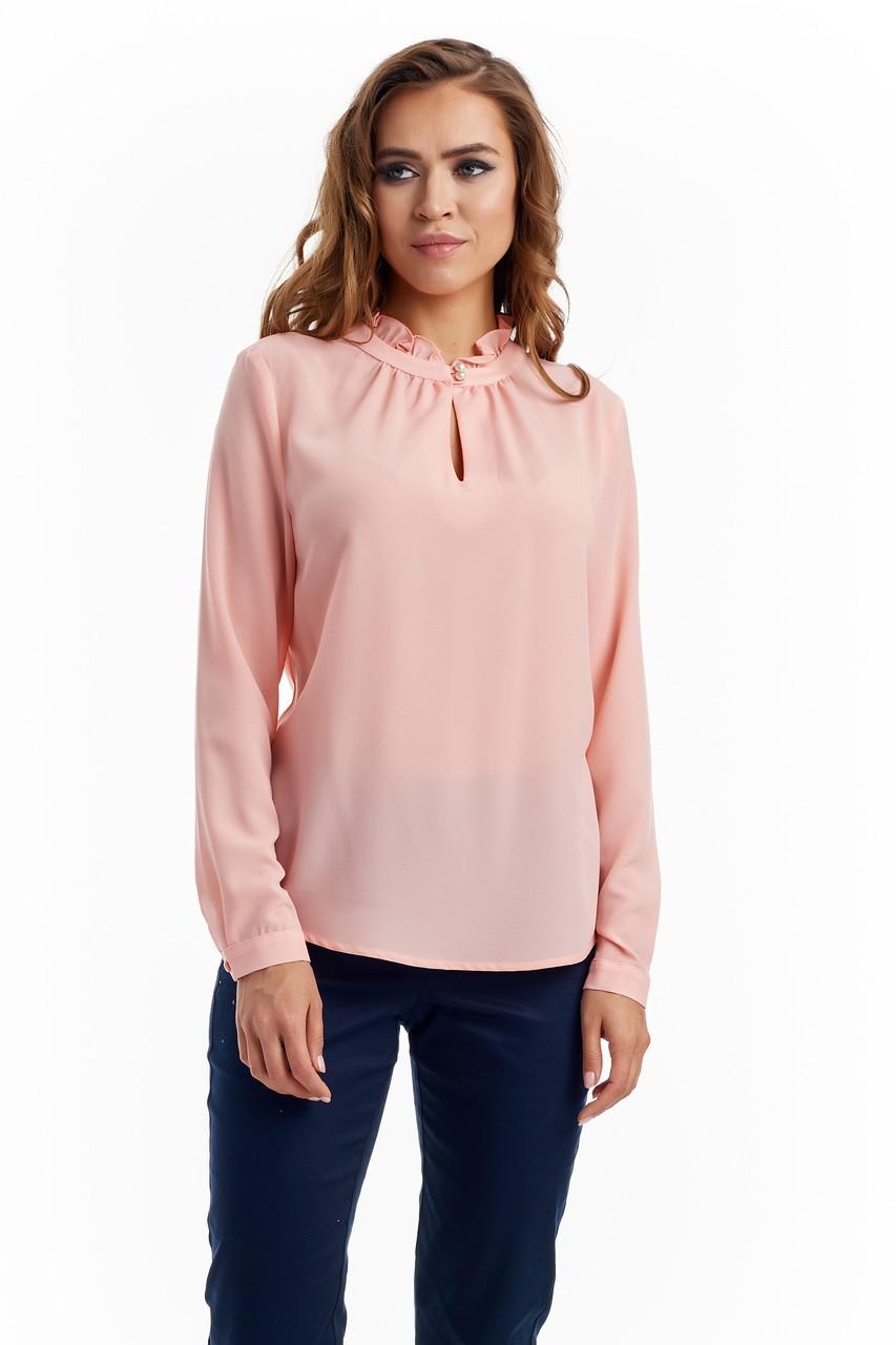 Блузка с длинным рукавом Lala Style W02003