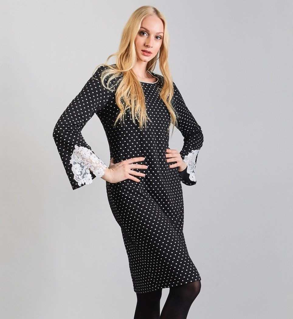 Элегантное дизайнерское платье TopDesign B8 099