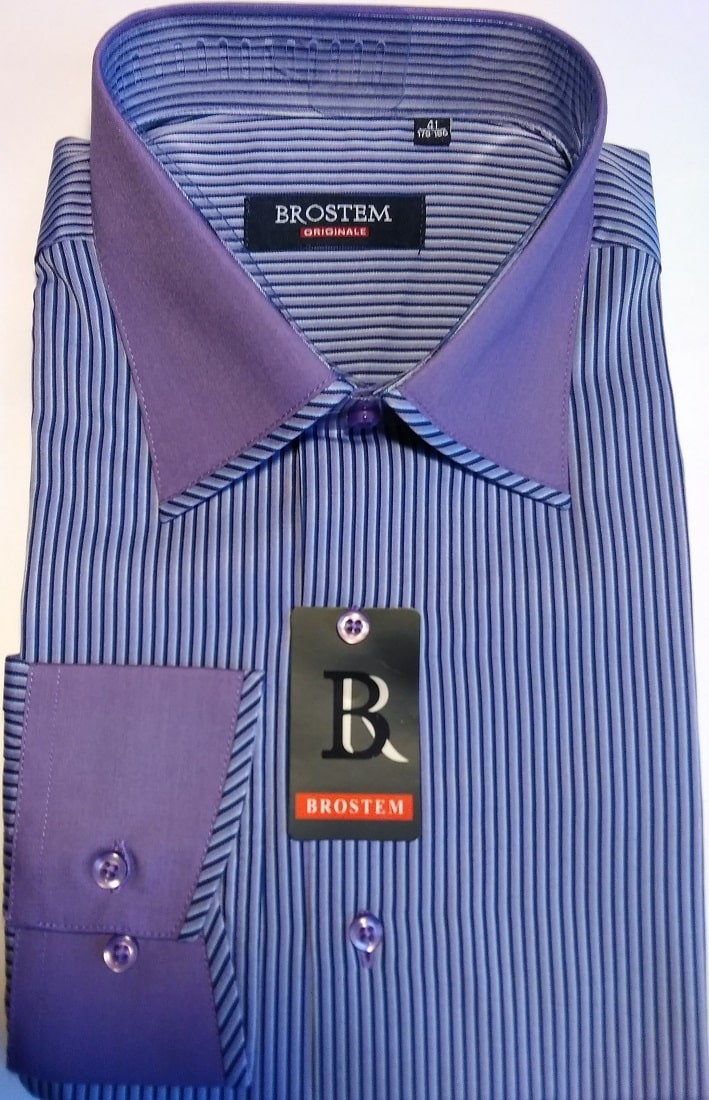 Модная рубашка мужская Brostem T259-1