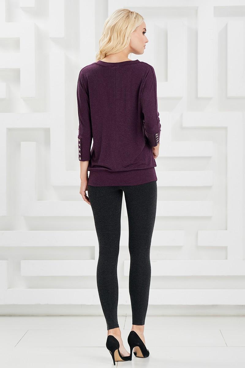 Черные женские легинсы Lala Style W11054