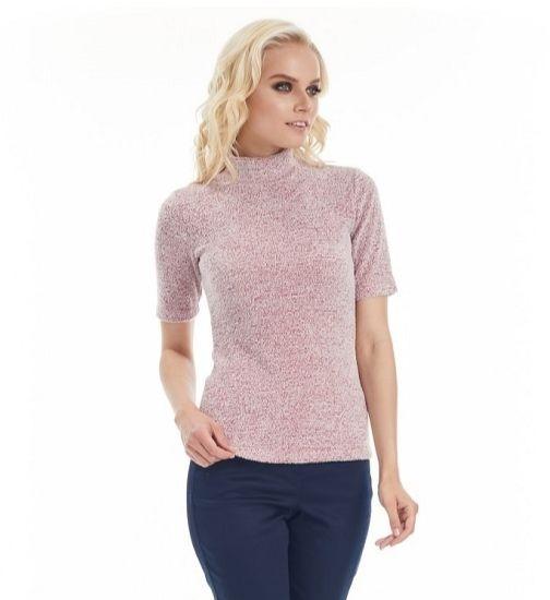 Модная женская блузка LalaStyle W08040