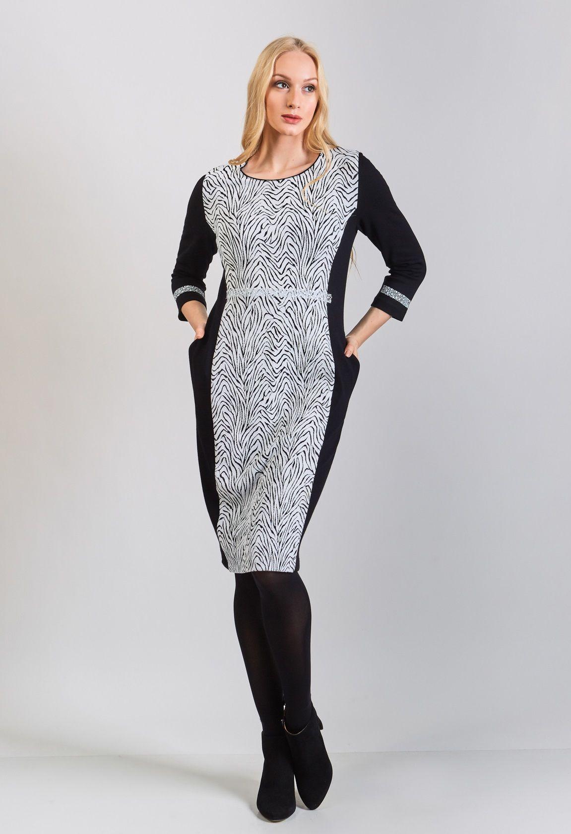 Платье женское Top Design В8 107
