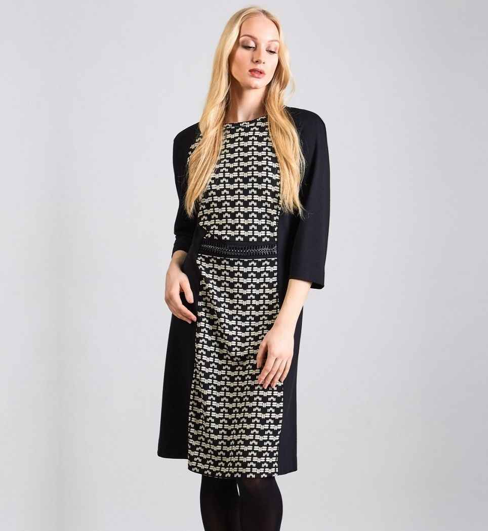 Повседневное платье TopDesign В8 105
