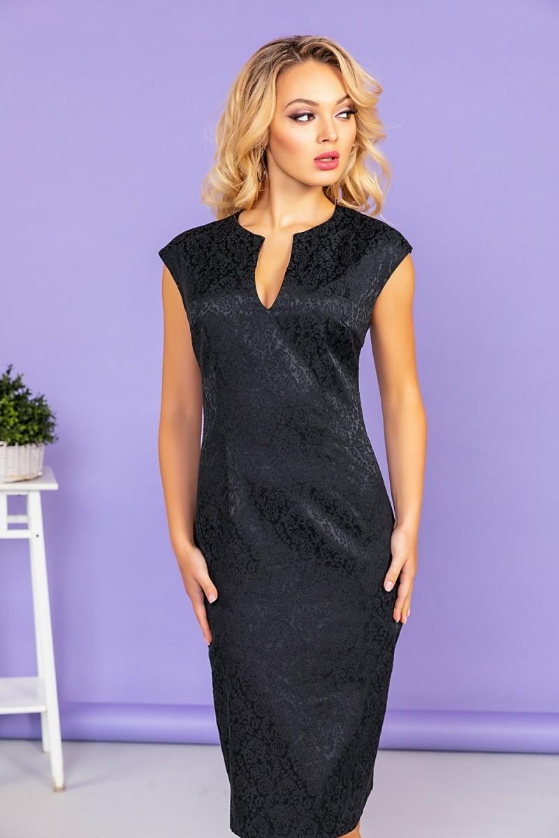 Черное платье Vittoria Vicci 1809-51664