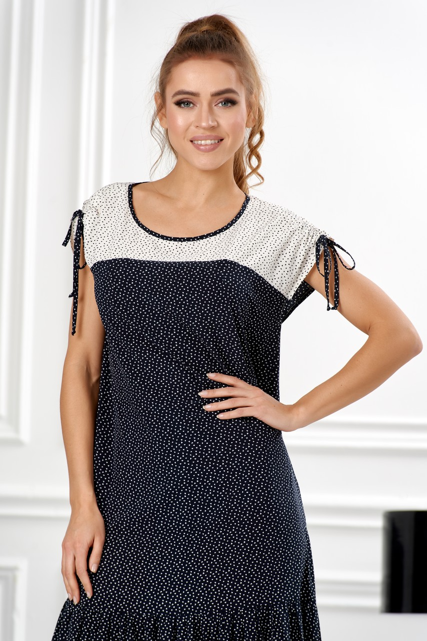 Красивое женское платье LalaStyle S01100-316