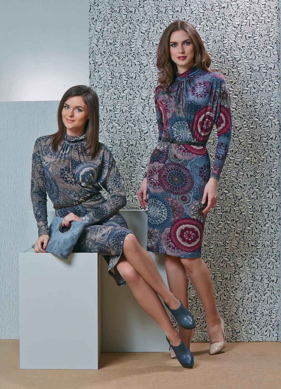 Модное платье TopDesign В4 001