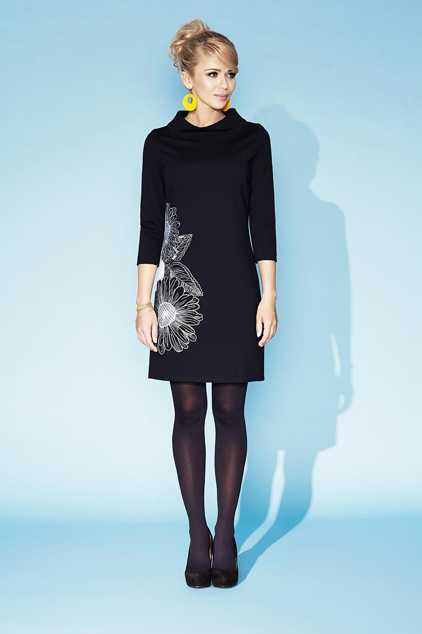 Платье с вышитыми цветами Zaps Jodie 004