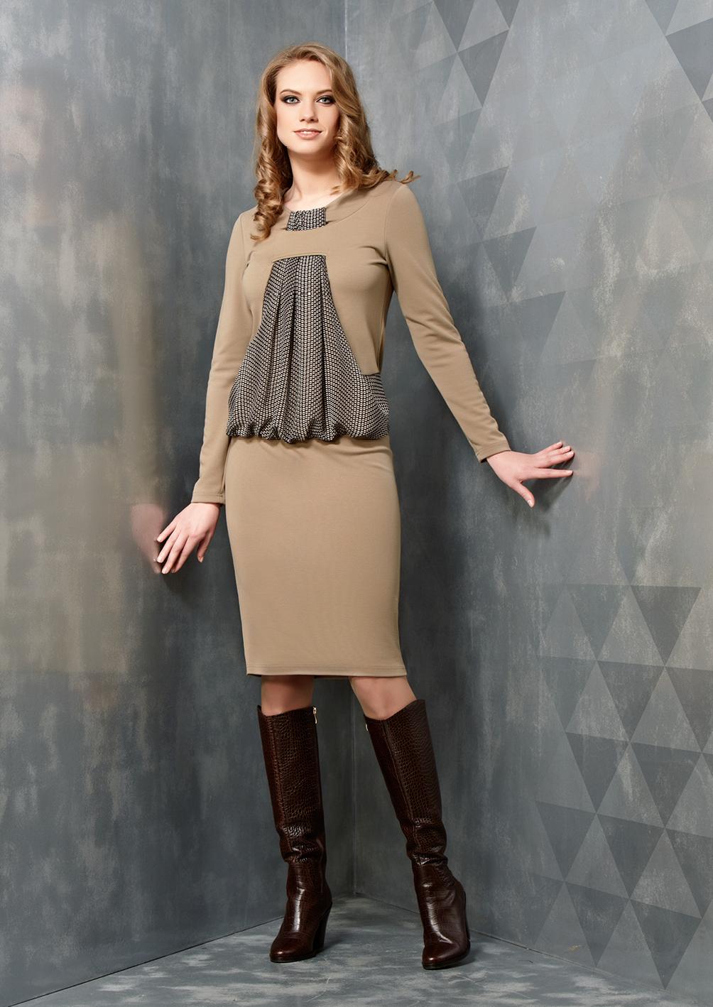 Оригинальное платье Top Desing B3 070