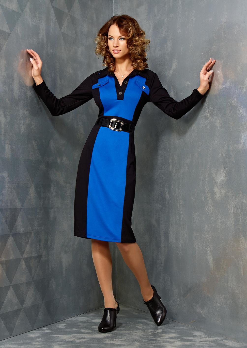 Стильное платье Top Desing B3 107