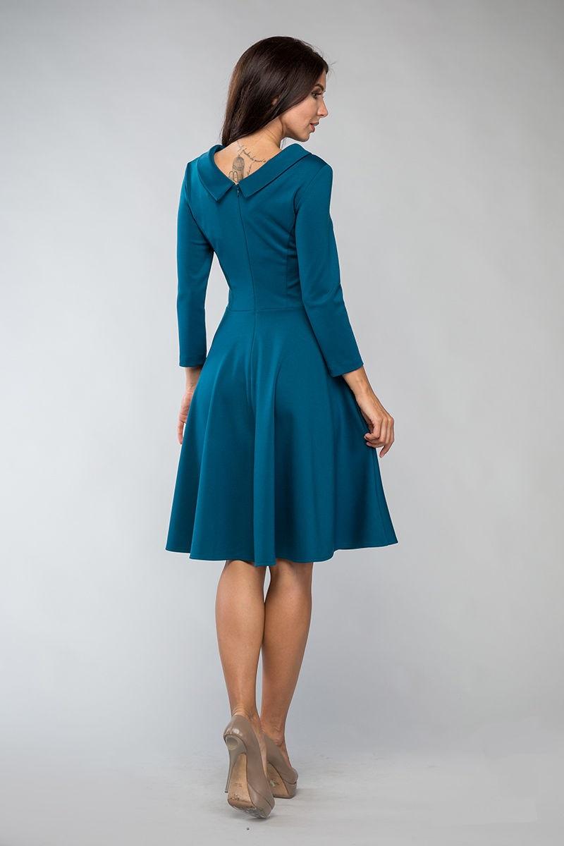 Платье для офиса Lala Style 1096-75